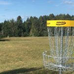"""A first """"Disc golf"""" course is born in Beauce"""